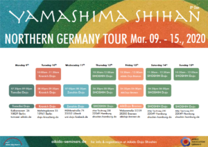 YAMASHIMA SHIHAN | Northern Germany Tour 2020